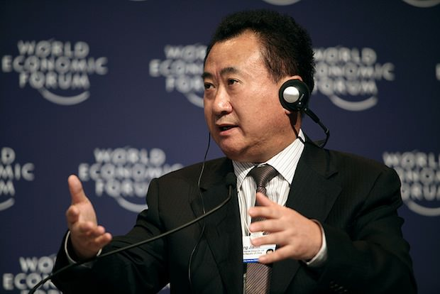 Wang Jianlin at the World Economic Forum in 2009. (World Economic Forum/flickr)