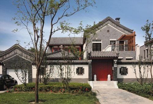 Traditional Chinese Courtyard Houses Making Quiet Return